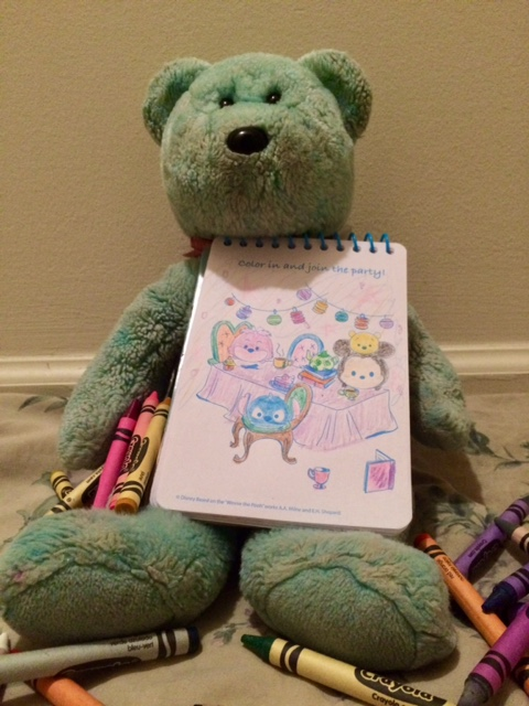 Colouring Teddy 03
