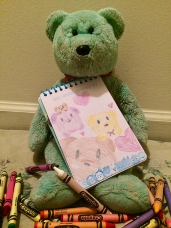 Colouring Teddy 06