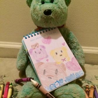 Colouring Teddy 06