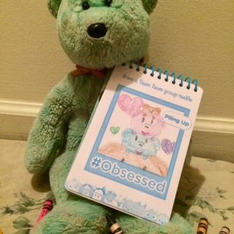 Colouring Teddy 07