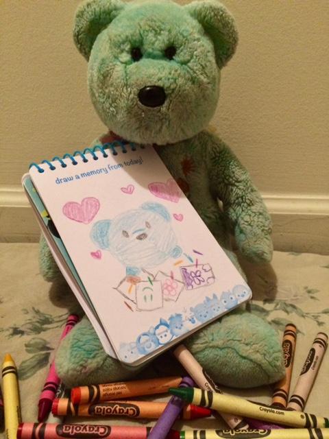 Colouring Teddy 08