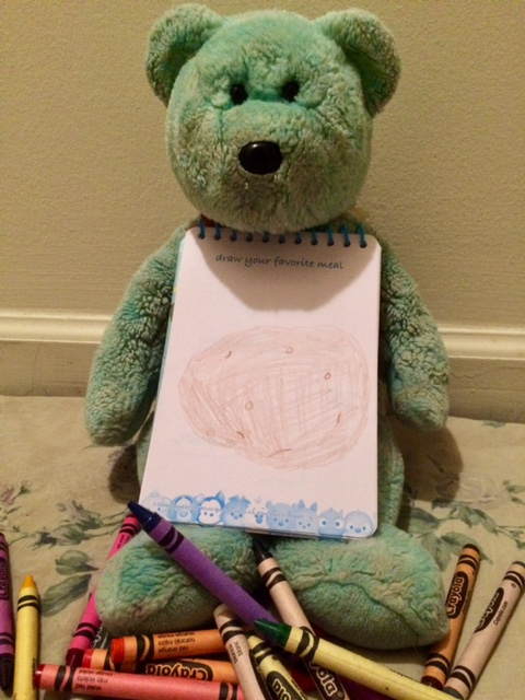 Colouring Teddy 09