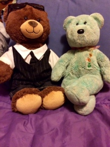 Teddy + Tom Bear 01